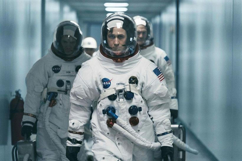 Ryan Gosling í hlutverki Neils Armstrongs í First Man.