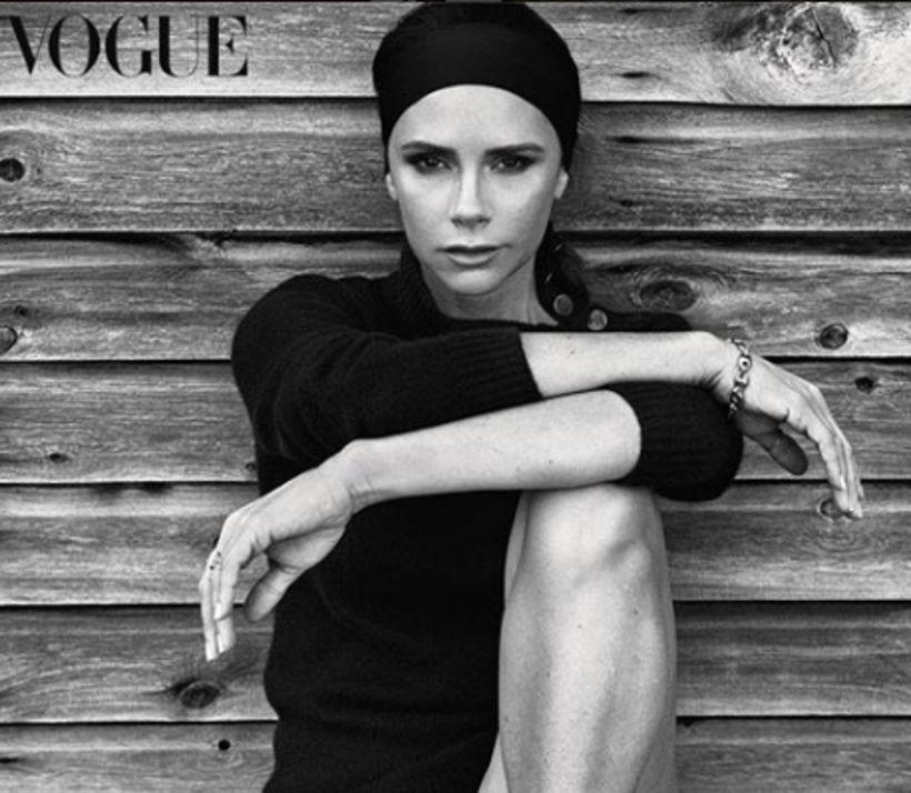 Victoria Beckham er ólík sjálfri sér að undanförnu.