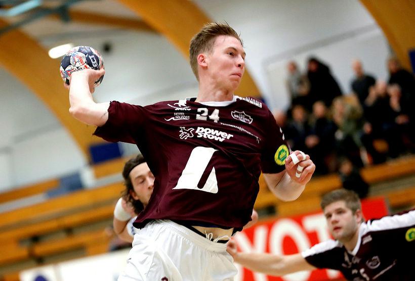 Einar Sverrisson fór á kostum með Selfoss-liðinu í úrslitakeppninni í ...