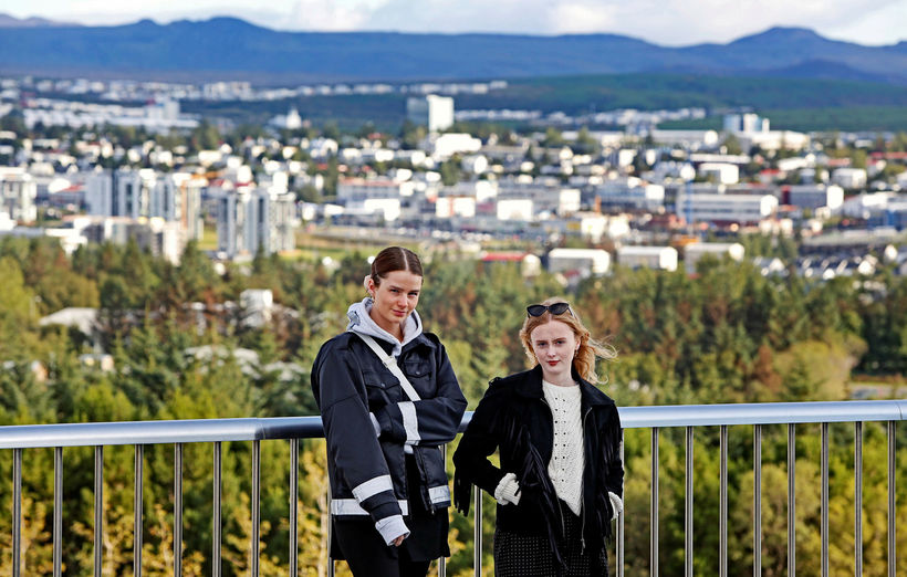 Eyrún Björk Jakobsdóttir og Elín Sif Halldórsdóttir eiga stórleik í ...