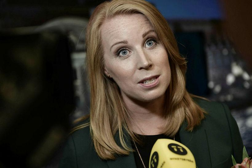 Annie Lööf, formaður Miðflokksins í Svíþjóð.