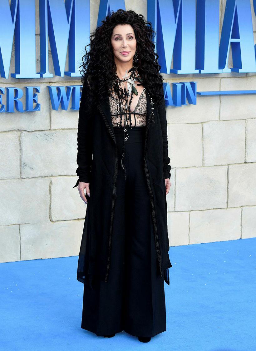 Cher er í flottu formi.