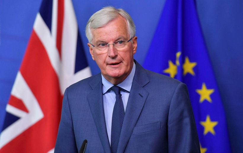 Michel Barnier, aðalsamningamaður Evrópusambandsins í viðræðum um útgöngu Breta úr ...