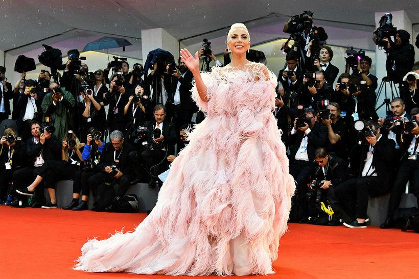 Lady Gaga í Valentino.
