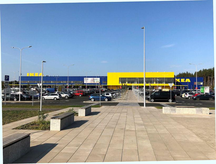Verslunin í Riga er 70% stærri en IKEA í Kauptúni ...