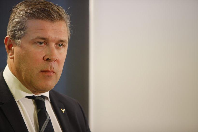Bjarni Benediktsson fjármálaráðherra kynnir fjárlagafrumvarp 2018.