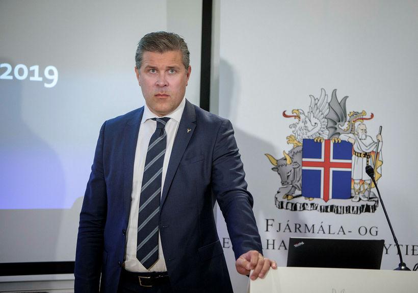 Bjarni Benediktsson fjármálaráðherra kynnir fjárlagafrumvarp ríkisstjórnarinnar.