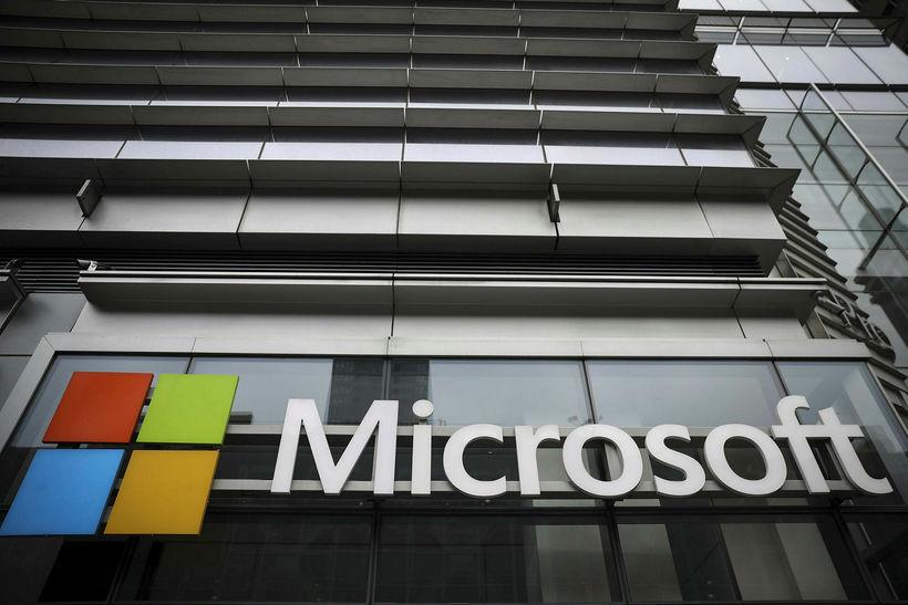 Samningur ríkisins við Microsoft var undirritaður í byrjun júní.