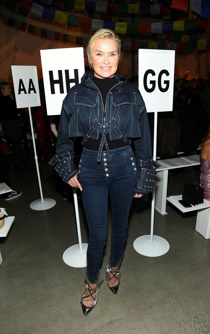 Yolanda Hadid í gallefni við gallefni.