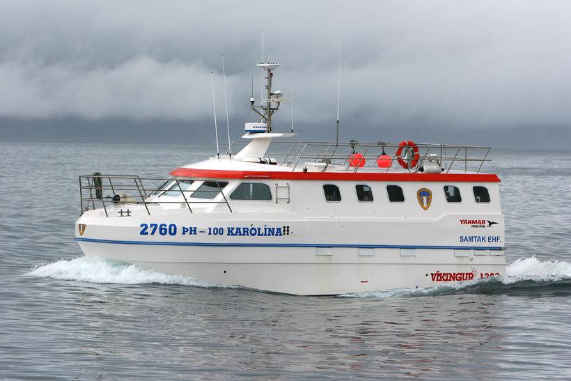 Karólína ÞH er 15 tonna línubátur.