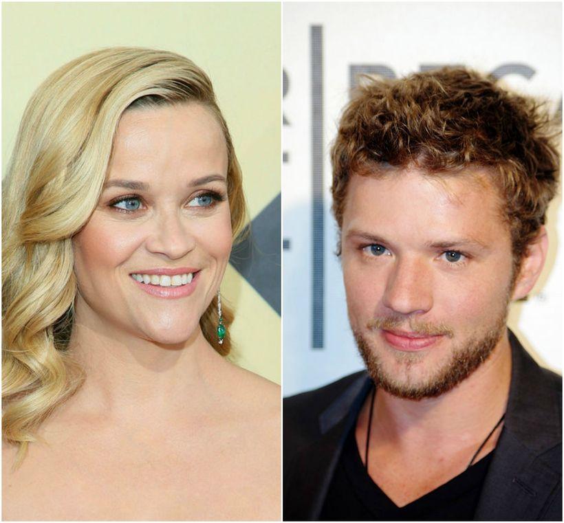 Reese Witherspoon og Ryan Phillippe voru gift á árunum 1999 ...