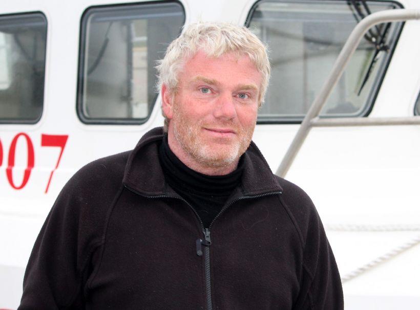Guðmundur Þór Jónsson er annar tveggja skipstjóra á Einari Guðnasyni ...