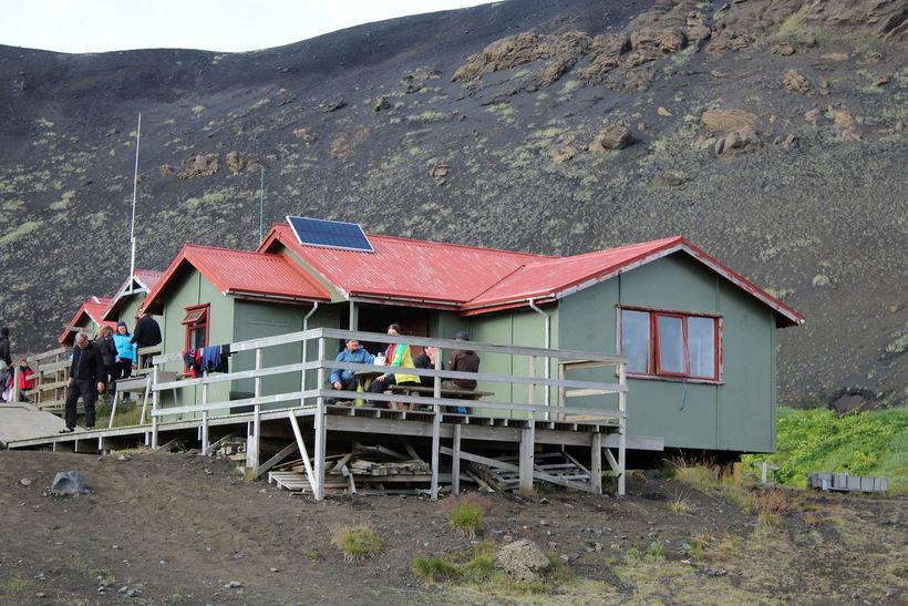 Ferðafélag Íslands rekur meðal annars skála í Emstrum, en hann ...