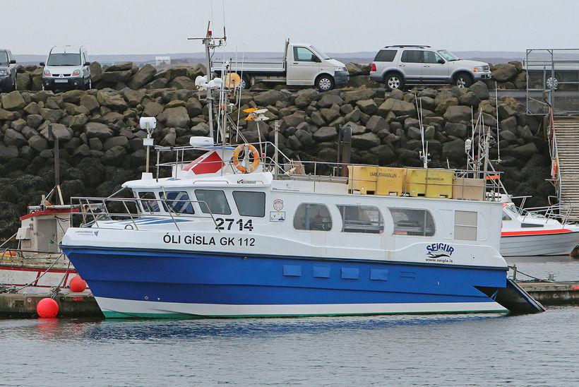Óli Gísla GK 112 nú Sævík GK 757, smíðaður í ...