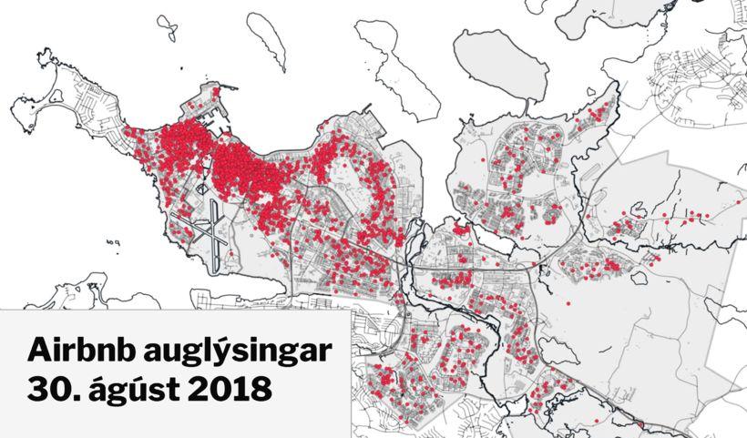 28. febrúar í ár voru 3.852 gististaðir auglýstir í gegnum ...