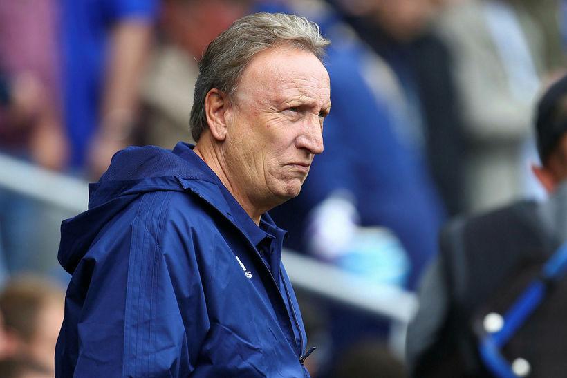 Neil Warnock, knattspyrnustjóri Cardiff.