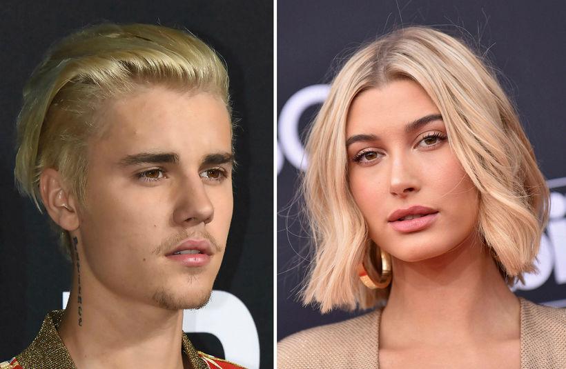 Justin Bieber og Hailey Baldwin eru yfir sig ástfangin.