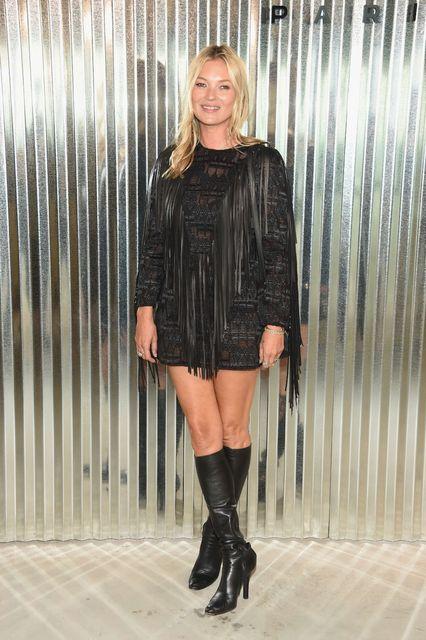 Kate Moss er orðin 44 ára og er að þroskast ...