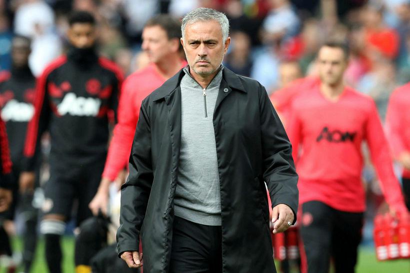 José Mourinho stýrði United til sigurs á Burnley í síðasta ...