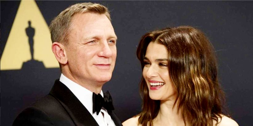 Leikarahjónin Daniel Craig og Rachel Weisz eignuðust sitt fyrsta barn ...