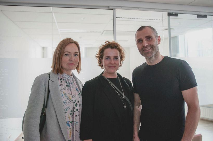 Hildur Jónsdóttir, Silja Huld Árnadóttir og Kristinn Hafliðason.