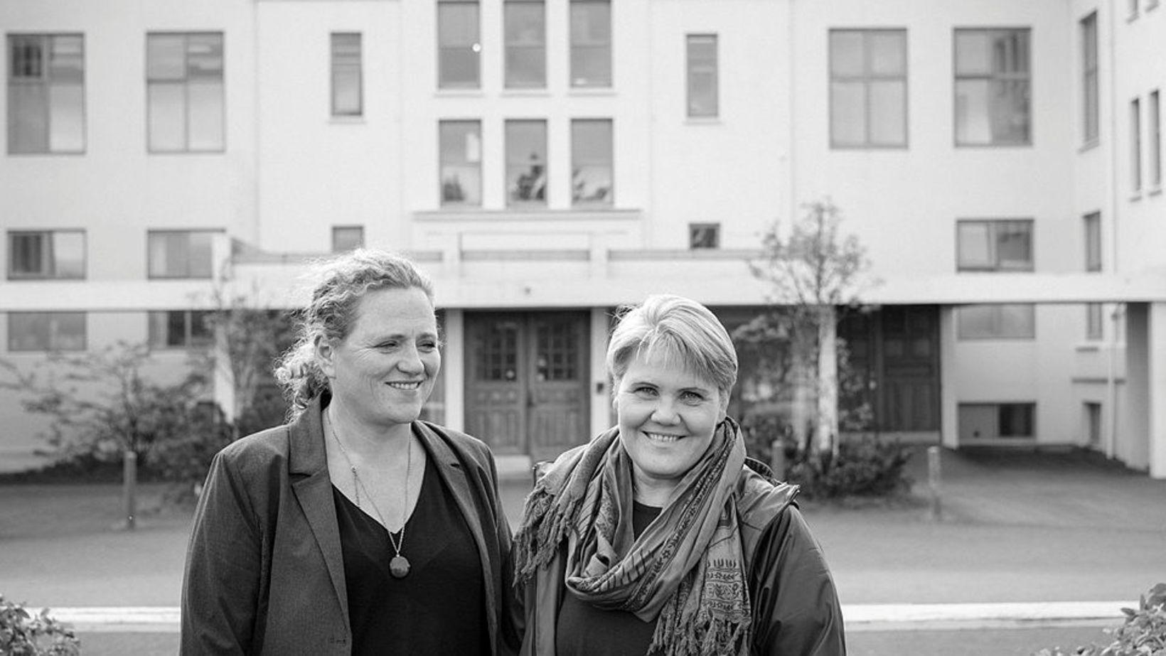 Sigurþóra Bergsdóttir og Sigrún Sigurðardóttir.