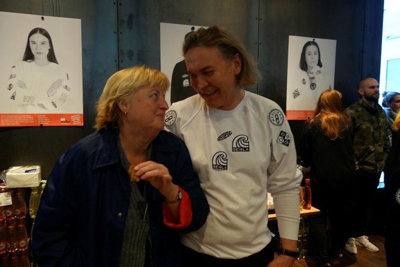 Ebba og Einar Þór.