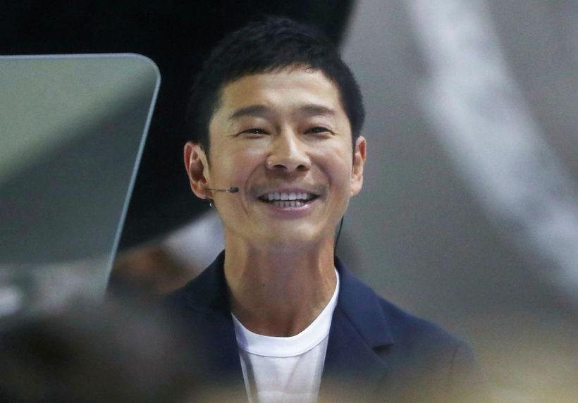 Yusaka Maezawa, japanskur milljarðamæringur, hefur verið valinn af Elon Musk, ...