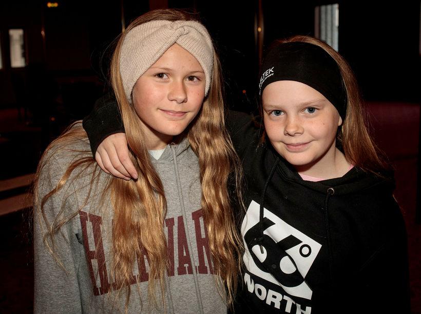 Kolfinna Einarsdóttir og Agnes Lív Blöndal.