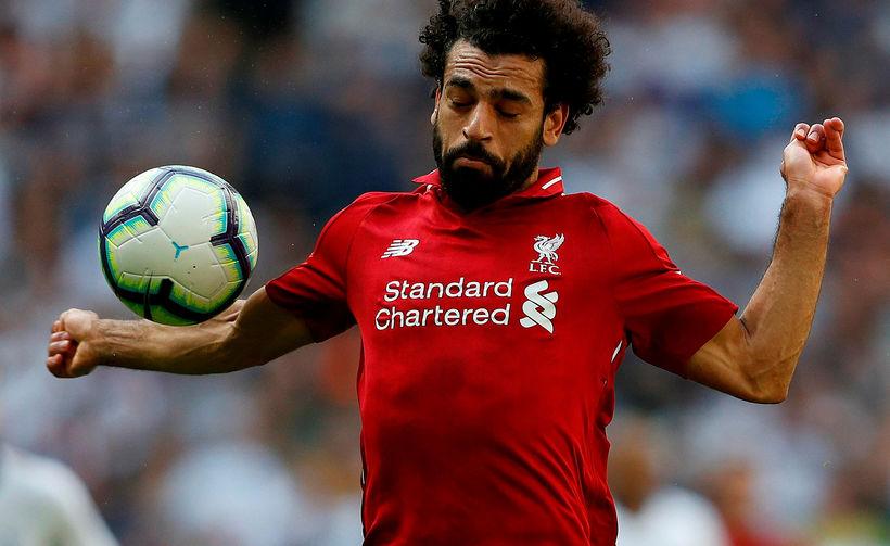Mohamed Salah verður í eldlínunni gegn Paris SG á Anfield ...