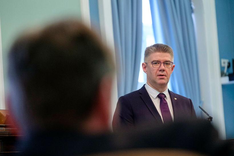 Gunnar Bragi Sveinsson, þingmaður Miðflokksins og fyrrverandi utanríkisráðherra.