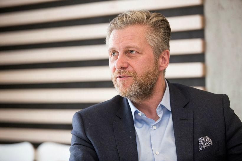 Eyþór Arnalds, oddviti Sjálfstæðisflokksins í borgarstjórn.