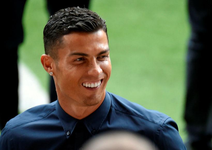 Cristiano Ronaldo er mættur til Spánar þar sem Juventus heimsækir ...