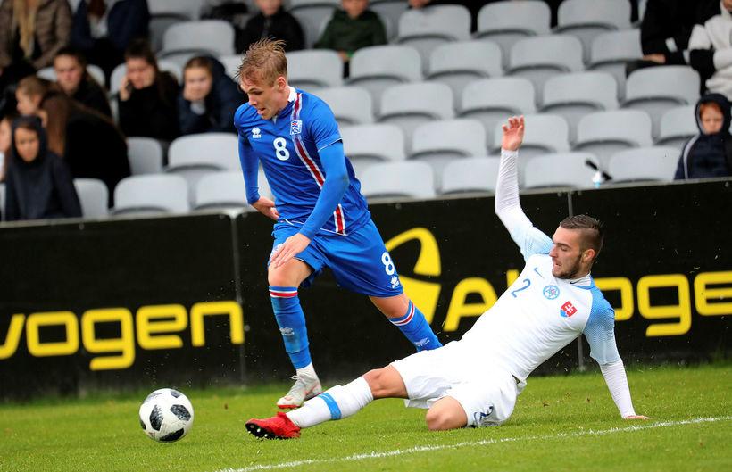 Arnór Sigurðsson lék með CSKA Moskvu í dag.