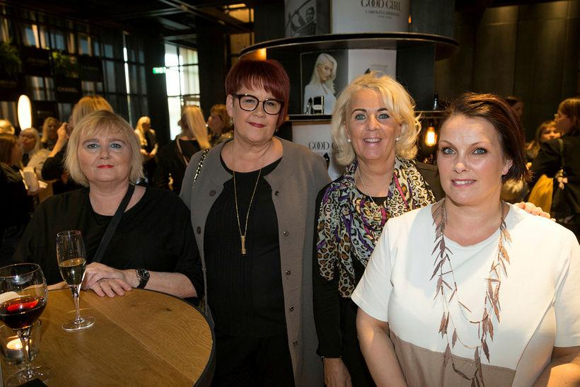 Helga Óladóttir, Guðbjörg Hjálmarsdóttir, Hafdís Stefánsdóttir og Kristín Ágústsdóttir