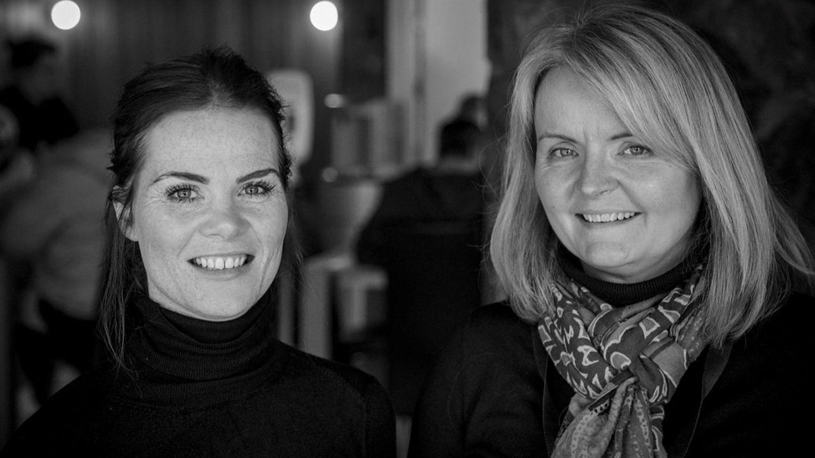 Halldóra Friðgerður Víðisdóttir og Nanna Briem.
