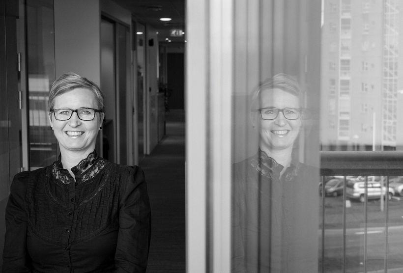 Anna Lóa Ólafsdóttir hefur unnið að verkefninu með Laugarásnum undanfarið …