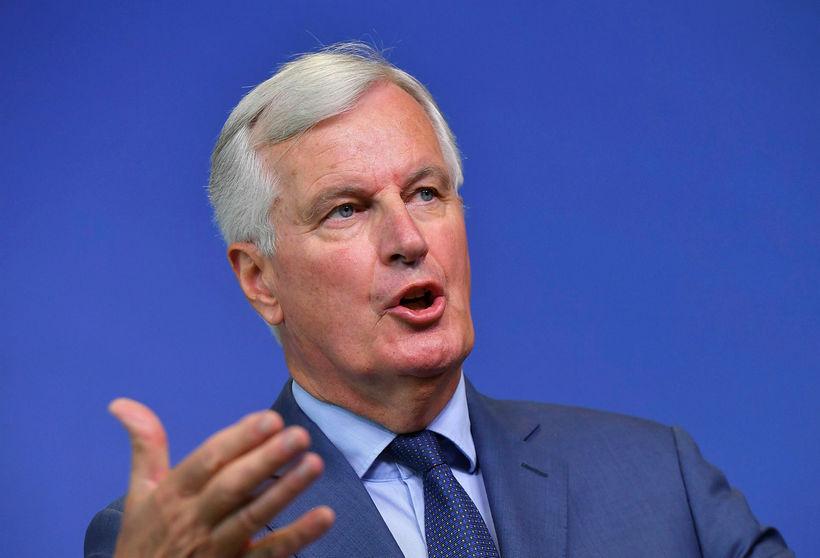 Michel Barnier, aðalsamningamaður Evrópusambandsins.