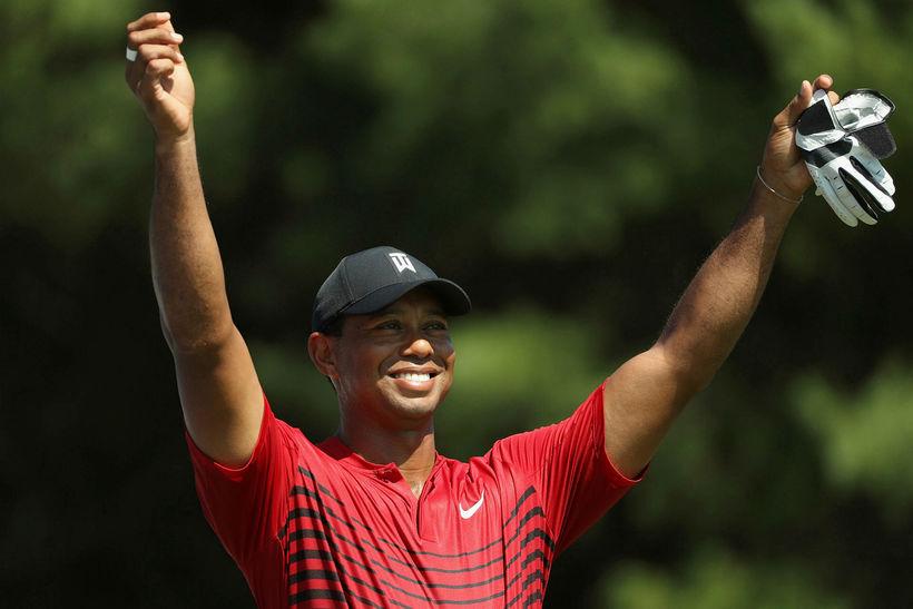 Tiger Woods er í Ryder-liði Bandaríkjanna.