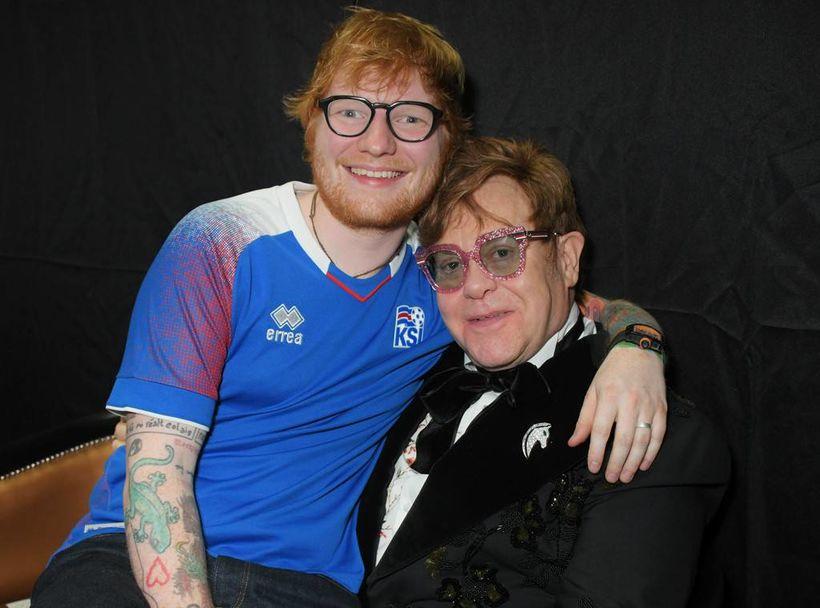 Ísleifur hjá Sena Live, sem flytur Ed Sheeran til landsins, ...