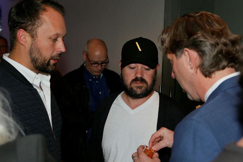 Sami Salmenkivi, Baker Lambert og Valgeir Magnússon.