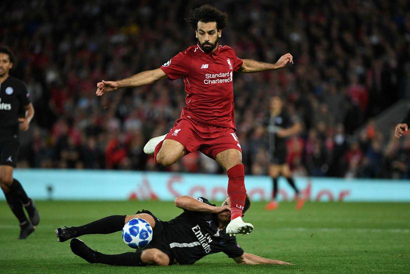 Mohamed Salah og félagar hans í Liverpool verða í beinni ...
