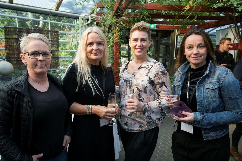 Hulda Gerorgsdóttir, Guðrún Bergmann, Hönn Hjálmarsdóttir og Bryndís Hákonardóttir.