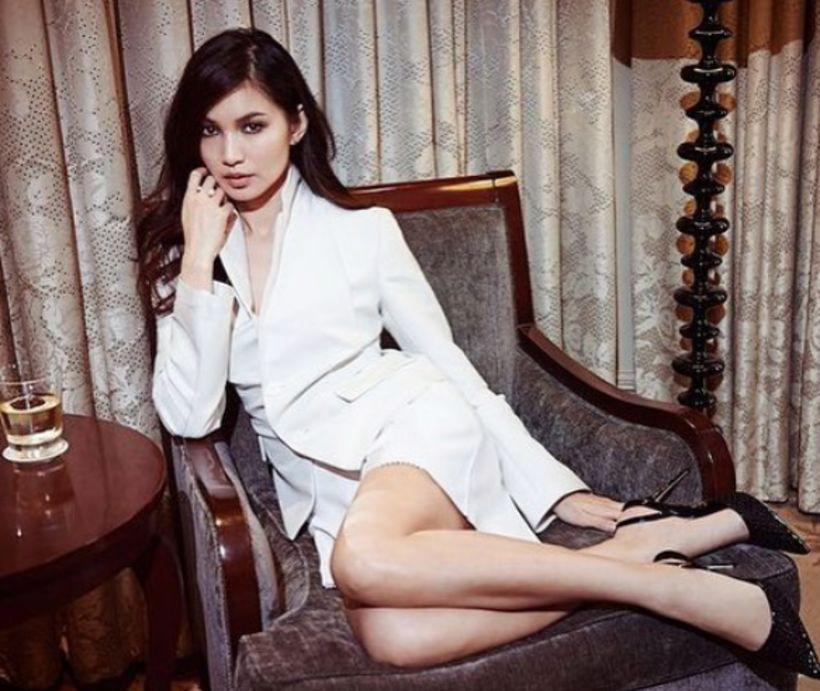 Leikkonunni Gemma Chan hefur verið líkt við Audrey Hepburn.