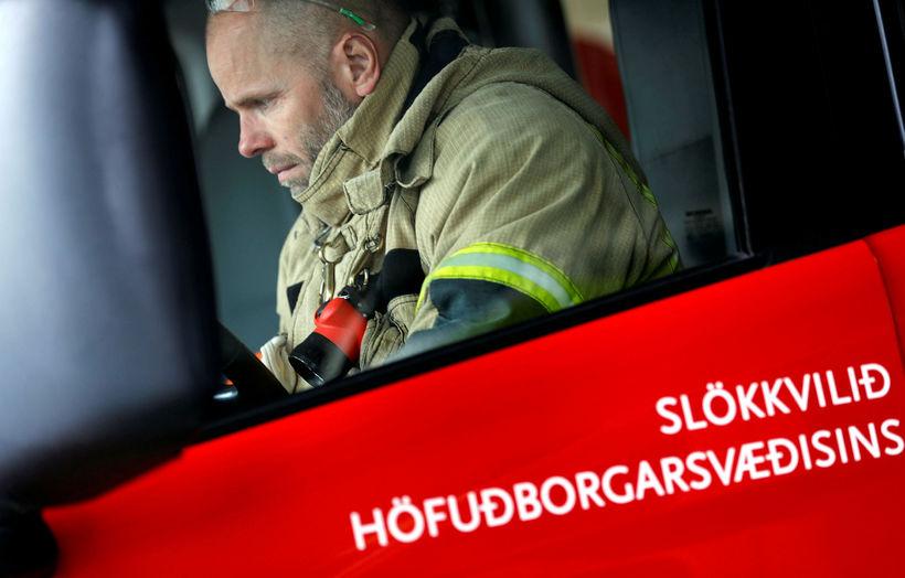 Slökkvilið á höfuðborgarsvæðinu hafði í nógu að snúast í morgun.