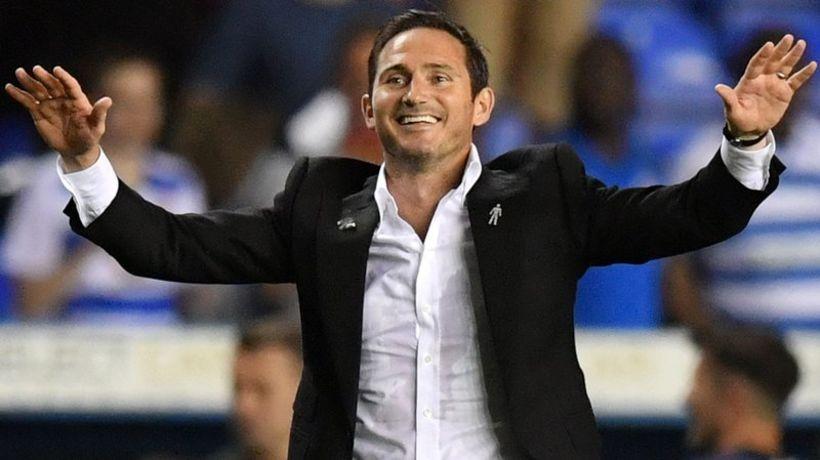 Frank Lampard knattspyrnustjóri Derby.