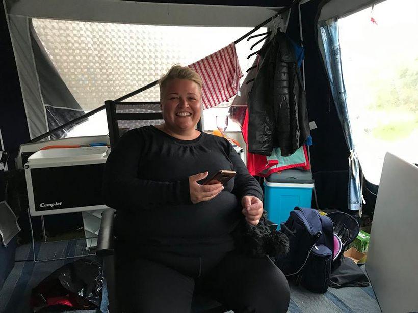Þessa mynd vildi Heiðrún birta á Facebook síðu sinni til ...