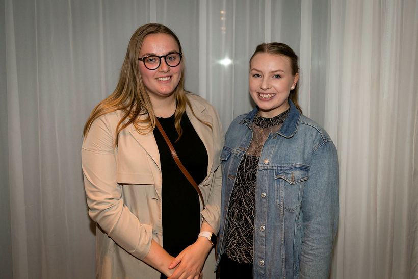 Anna Steinunn Ingólfsdóttir og Elísabet Ásta Guðjónsdóttir.