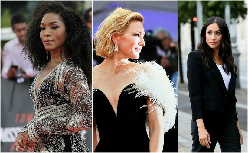 Angela Bassett, Cate Blanchett og Meghan hertogaynja eru á lista ...