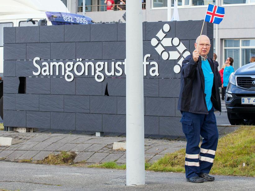 Ýmsar athugasemdir voru gerðar við starfsemina í skýrslu starfshóps og ...